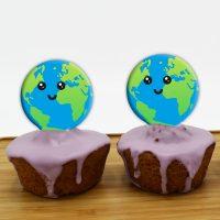 قالب شکلات کره زمین