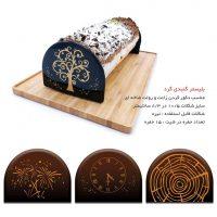 قالب شکلات گنبدی سرگرد