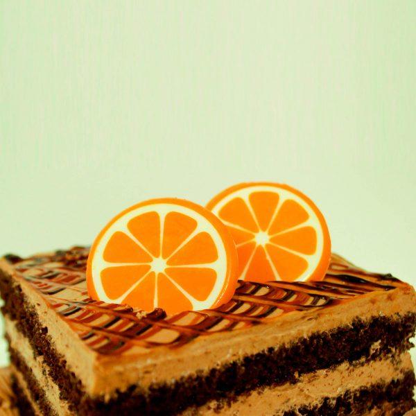 قالب شکلات پرتقال کامل