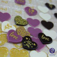 قالب شکلات قلب